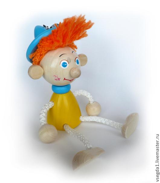"""Человечки ручной работы. Ярмарка Мастеров - ручная работа. Купить Игрушка """"Незнайка"""" на пружинке. Handmade. Игрушка для детей, игрушка"""