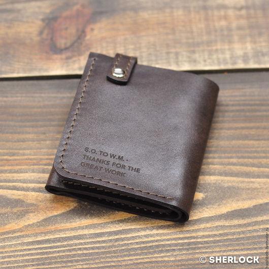Кошелек Уолтера Митти 89206d оригинал-коричневый купить