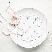 Посуда handmade. Livemaster - original item Lavender shabby.. Saucer handmade ceramics. Handmade.