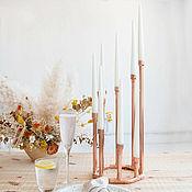 Для дома и интерьера handmade. Livemaster - original item Eight candle holder high AL-C-002. Handmade.