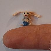"""Куклы и игрушки ручной работы. Ярмарка Мастеров - ручная работа Вязаная миниатюра  """"Любовь к моркови """". Handmade."""
