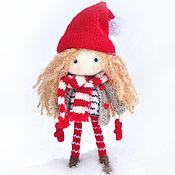 Куклы и игрушки ручной работы. Ярмарка Мастеров - ручная работа Кукла. Кукла вязаная. Игровая кукла Николь. Handmade.
