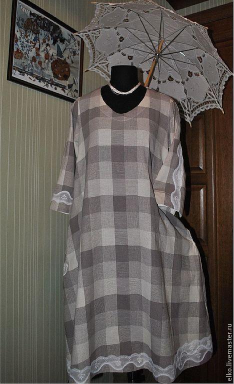 """Платья ручной работы. Ярмарка Мастеров - ручная работа. Купить """"Легче перышка"""" летнее платье в винтажном стиле. Handmade. Кремовый"""