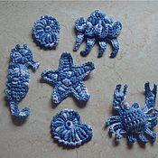 Работы для детей, ручной работы. Ярмарка Мастеров - ручная работа Морские обитатели крючком. Handmade.