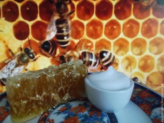 Крем, гель, сыворотка ручной работы. Ярмарка Мастеров - ручная работа. Купить Королевский десерт.Крем с пчелиным маточным молочком. Handmade.