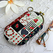 Сумки и аксессуары handmade. Livemaster - original item Eyeglass case with clasp