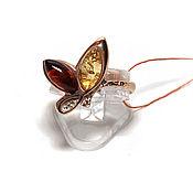 Украшения handmade. Livemaster - original item Cute amber ring