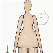 Куклы и игрушки handmade. Livemaster - original item The blank for the body of the Tilde. Handmade.