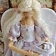 """Коллекционные куклы ручной работы. Ярмарка Мастеров - ручная работа. Купить Ангел """"Мамино сердце"""". Handmade. Ангел"""