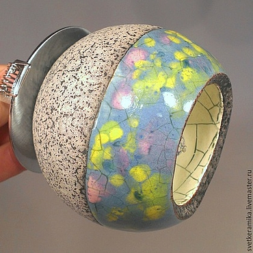 Для дома и интерьера ручной работы. Ярмарка Мастеров - ручная работа Точечный светильник - керамический шарик в комплект к плитке. Handmade.