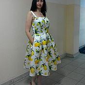 Одежда ручной работы. Ярмарка Мастеров - ручная работа Сарафан ,,Лимон,,. Handmade.