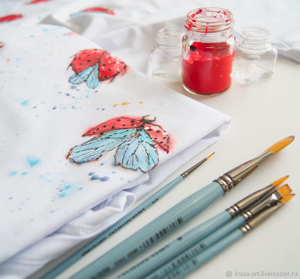 t-shirt ladybugs, T-shirts, Tolyatti,  Фото №1
