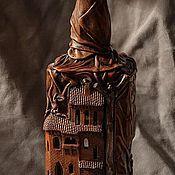 Подарки к праздникам ручной работы. Ярмарка Мастеров - ручная работа Две бутылки. Handmade.