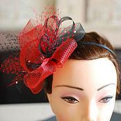 Аксессуары handmade. Livemaster - original item Evening hat-veil