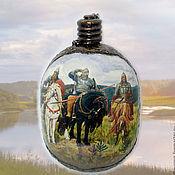 Подарки к праздникам handmade. Livemaster - original item Flask