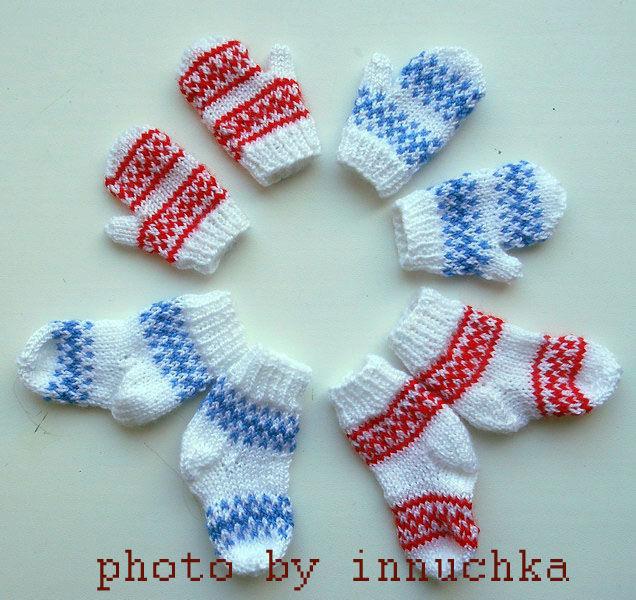 Комплекты для кукол Паола Рейна: варежки+носочки, Одежда для кукол, Санкт-Петербург,  Фото №1