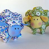 Куклы и игрушки ручной работы. Ярмарка Мастеров - ручная работа Забавная овечка Бяша. Handmade.