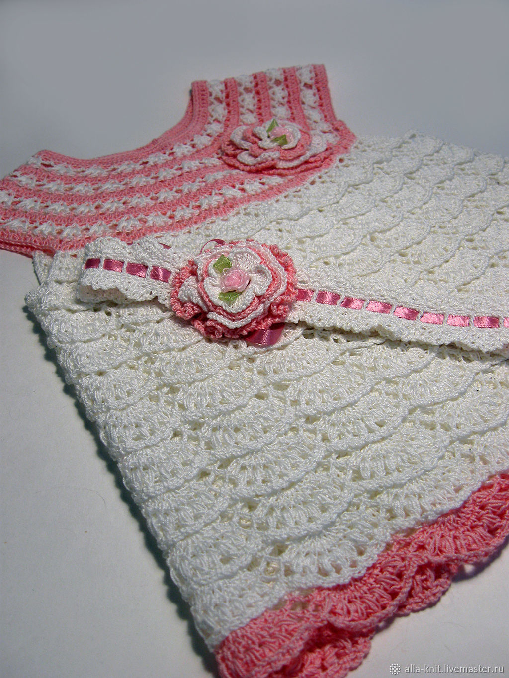 Dress For Girl Crochet Shop Online On Livemaster With Shipping