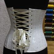 """Одежда ручной работы. Ярмарка Мастеров - ручная работа Подгрудный корсет утягивающий """"Silver"""". Handmade."""