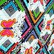 Текстиль, ковры ручной работы. Ярмарка Мастеров - ручная работа. Купить пэчворк покрывало с аппликациями МОТЫЛЬКОВАЯ МЕТЕЛЬ. Handmade. покрывало