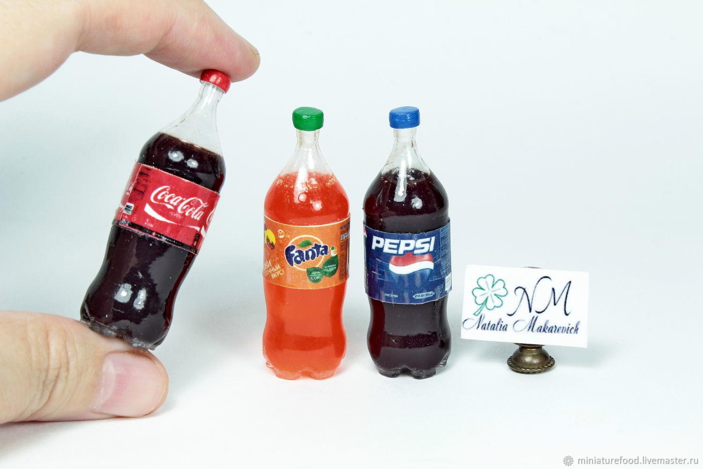 Лимонад для кукол в 2-х литровой бутылке, Кукольная еда, Щелково,  Фото №1