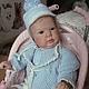 Куклы-младенцы и reborn ручной работы. Ярмарка Мастеров - ручная работа. Купить Кристов. Handmade. Бежевый