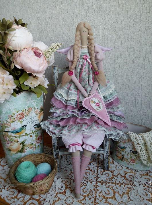 Куклы Тильды ручной работы. Ярмарка Мастеров - ручная работа. Купить Доротея текстильная кукла ручной работы. Handmade. Тильда