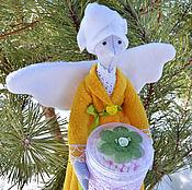 Куклы и игрушки ручной работы. Ярмарка Мастеров - ручная работа Банный ангел тильда. Handmade.