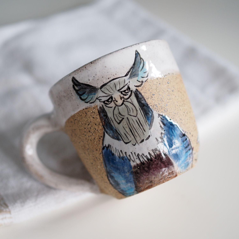 Керамическая кружка Викинг, Кружки и чашки, Мурманск,  Фото №1