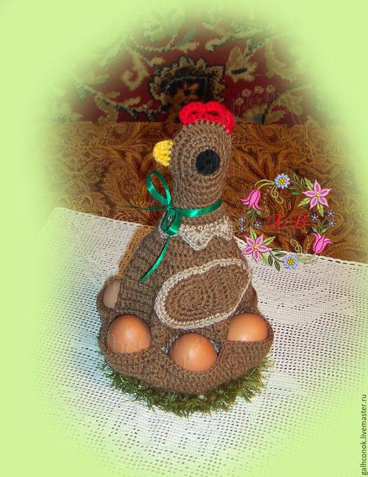 Подарки на Пасху ручной работы. Ярмарка Мастеров - ручная работа. Купить Курочка пасхальная на 6 яичек 2.. Handmade. Курица