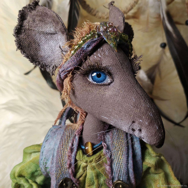 Крыса Ратти, Портретная кукла, Санкт-Петербург,  Фото №1