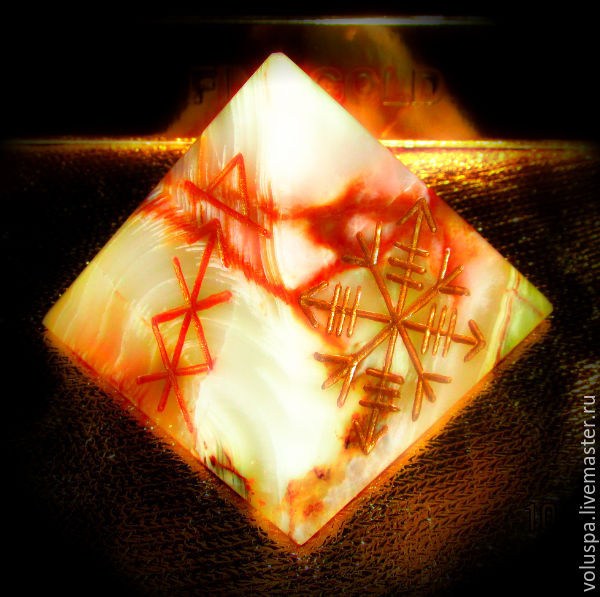 The pyramid is the mascot of 'Growth, self-actualization protection', Amulet, Sochi,  Фото №1