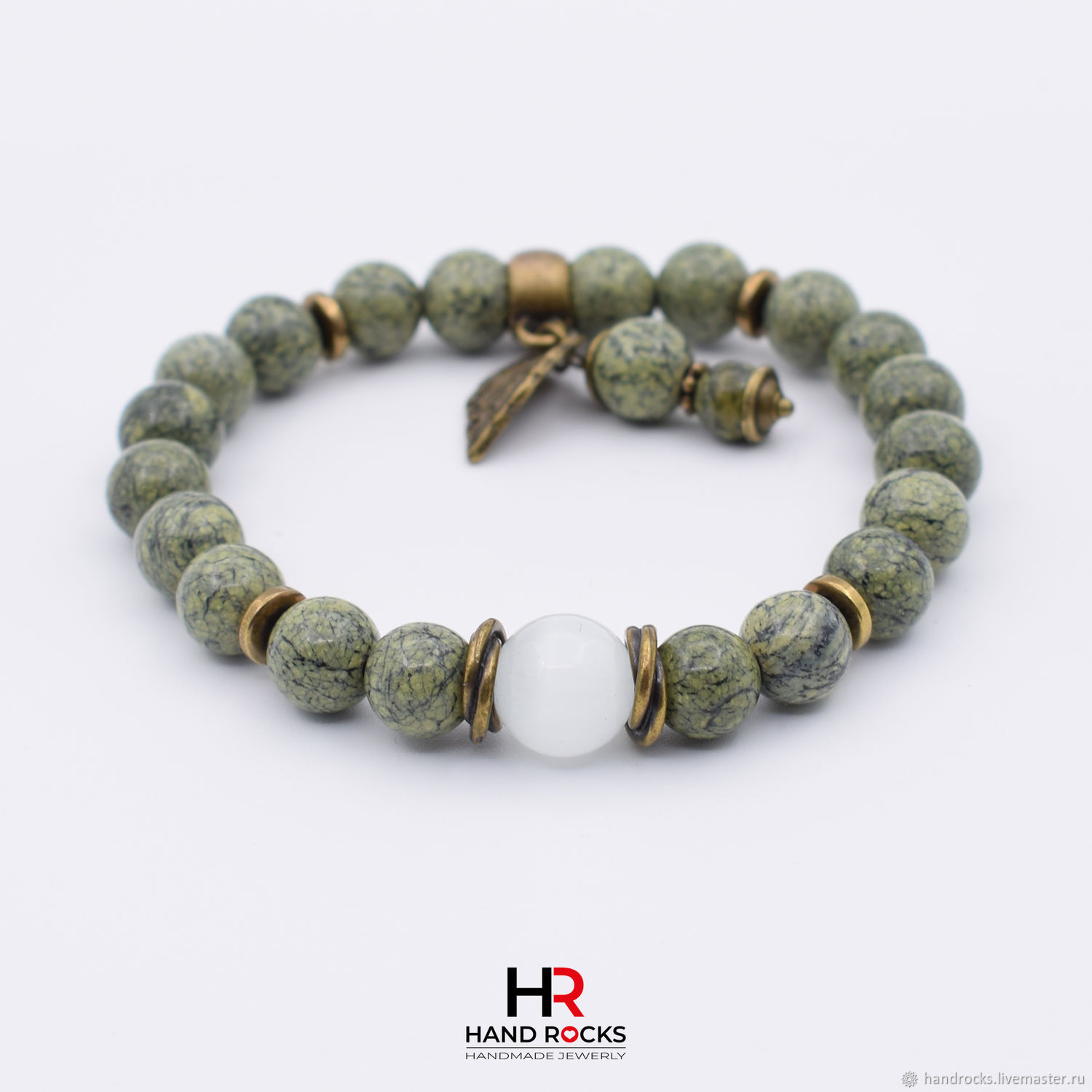 Bracelet made of natural stones ' Dryad», Bead bracelet, Moscow,  Фото №1