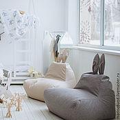 Для дома и интерьера ручной работы. Ярмарка Мастеров - ручная работа Кресло-заяц (рогожка). Handmade.