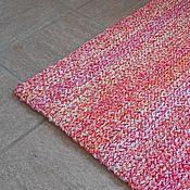 """Для дома и интерьера ручной работы. Ярмарка Мастеров - ручная работа коврик вязаный """"Зефир"""". Handmade."""
