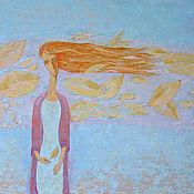 """Картины и панно ручной работы. Ярмарка Мастеров - ручная работа Картина маслом """"Забытые обещания"""". Handmade."""
