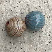Материалы для творчества ручной работы. Ярмарка Мастеров - ручная работа Бусины керамические крупные 30 мм. Handmade.