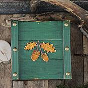 """Для дома и интерьера ручной работы. Ярмарка Мастеров - ручная работа Короб """"Желуди"""". Handmade."""