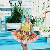 Одежда ручной работы. Ярмарка Мастеров - ручная работа Летнее платье с пышной юбкой. Handmade.