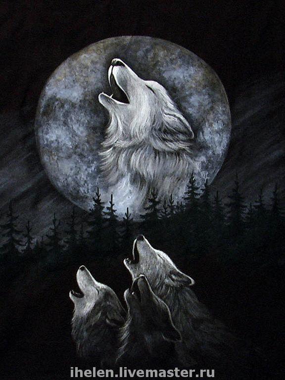 того картинки волки с воронами этого, совместный