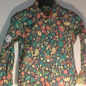 Работы для детей, ручной работы. Ярмарка Мастеров - ручная работа рубашка для мальчика. Handmade.