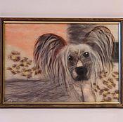 Картины и панно ручной работы. Ярмарка Мастеров - ручная работа Китайская хохлатая (работа по фото). Handmade.