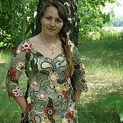 """Одежда ручной работы. Ярмарка Мастеров - ручная работа Платье  """" Лесная фея """". Handmade."""