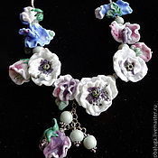 Украшения handmade. Livemaster - original item Necklace Charms flower fairies. Handmade.