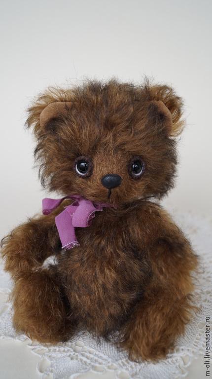 Мишки Тедди ручной работы. Ярмарка Мастеров - ручная работа. Купить мишка Николя. Handmade. Коричневый, подарок на день рождения