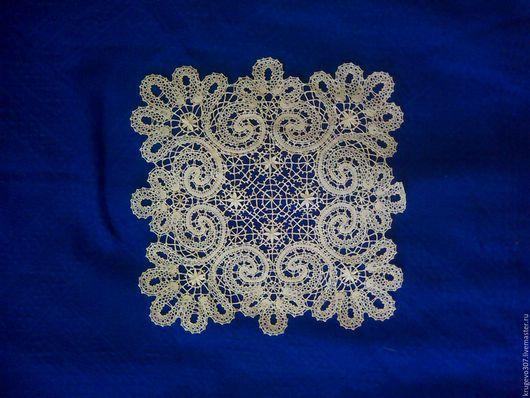 Текстиль, ковры ручной работы. Ярмарка Мастеров - ручная работа. Купить Кружевная салфетка. Handmade. Белый, кружевная салфетка