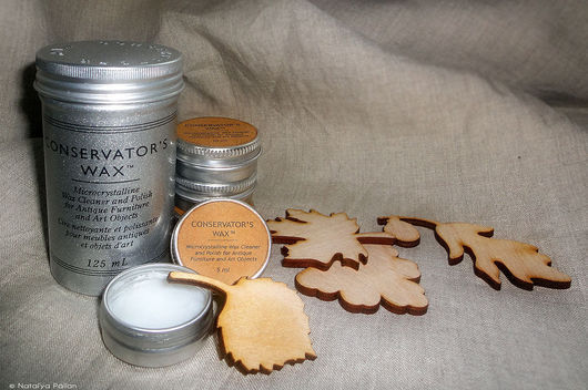 Conservator`s Wax - микрокристаллический консервационный воск для обработки дерева, металла, монет, пластика, керамики, кости, мрамора, камня, кожи, позолоты, литых смол, фотографий. Материалы. Pallan