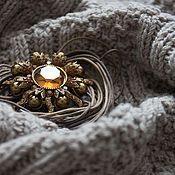 Одежда ручной работы. Ярмарка Мастеров - ручная работа Бежевое платье. Handmade.