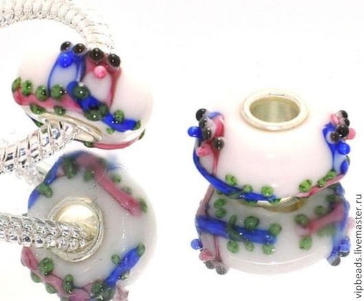 """Для украшений ручной работы. Ярмарка Мастеров - ручная работа. Купить Бусина """"Птички маленькие"""" в стиле Пандора. Handmade."""