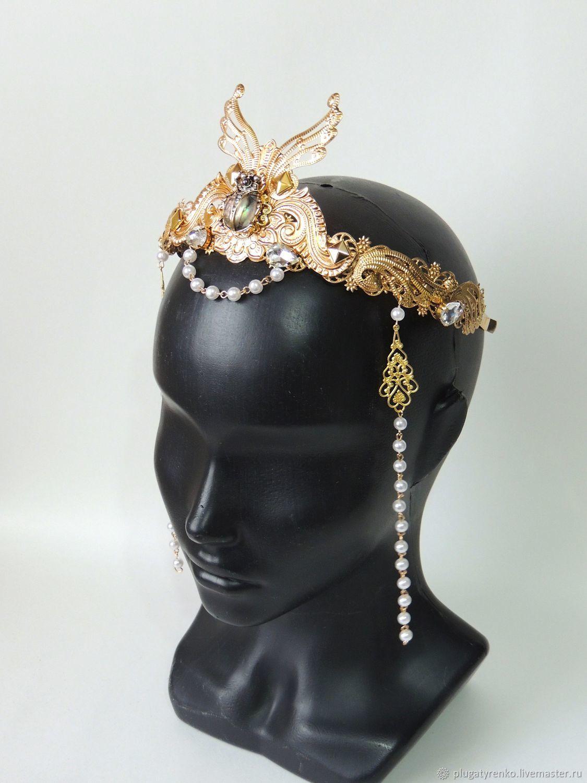 Фантазийная корона - Царица Клеопатра, Диадемы, Калач,  Фото №1